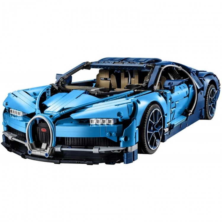 Lego Technic Bugatti Chiron 42083 - 3599pcs - Imagem: 1