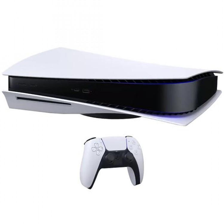 Console Sony Playstation 5 de 825GB SSD 8K CFI-1000A 110V - Branco/Preto - Imagem: 4