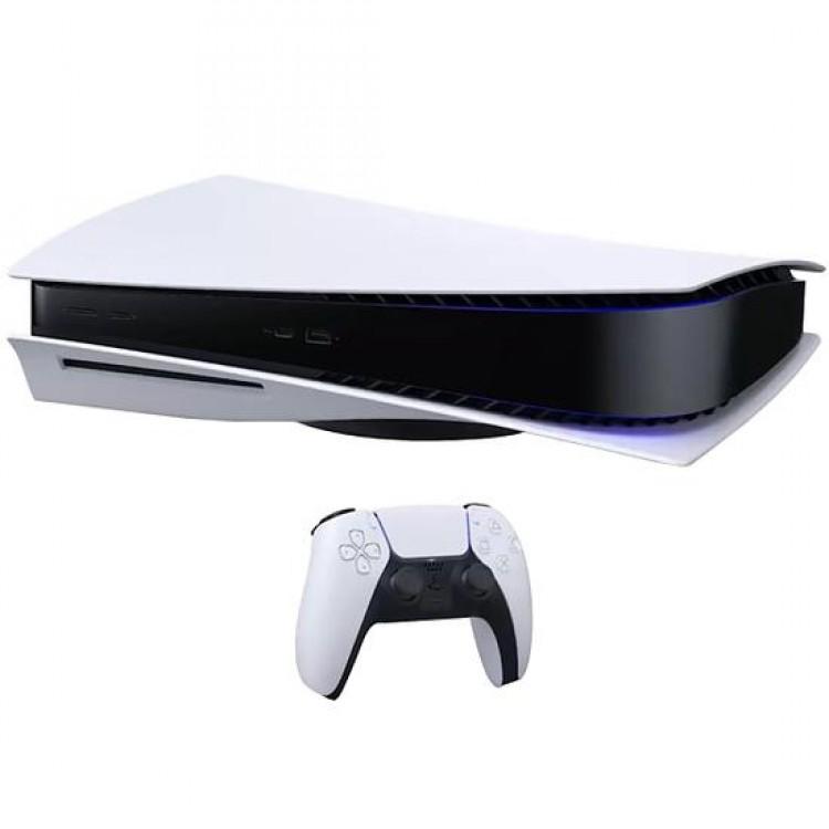 Console Sony Playstation 5 de 825GB SSD 8K CFI-1000A 110V - Branco/Preto - Imagem: 7