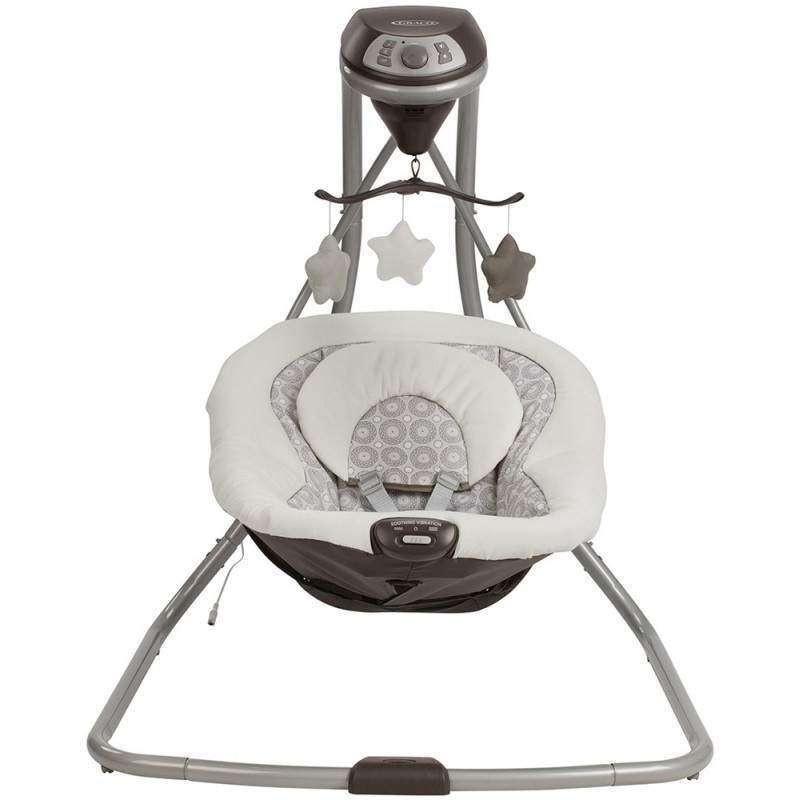Cadeirinha Balanço para Bebê Graco Simple Sway Abbington