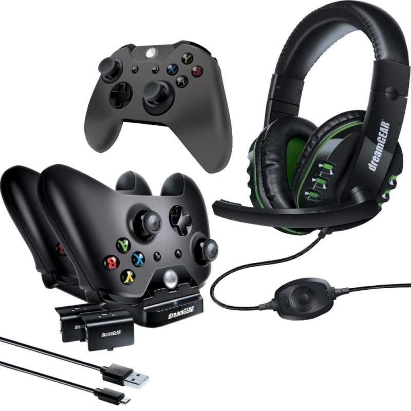 Kit Gamer Dreamgear para Xbox One DGXB1-6631 com 8 Acessórios