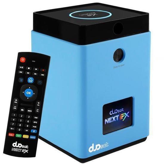 Receptor Fta Duosat Next FX Ultra HD 4K SD/ USB/ HDMI/ Wifi/ H.265/ Bluetooth