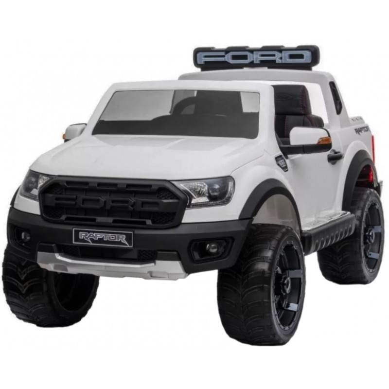 Carro Elétrico Ford Ranger Raptor Branco - Pinghu