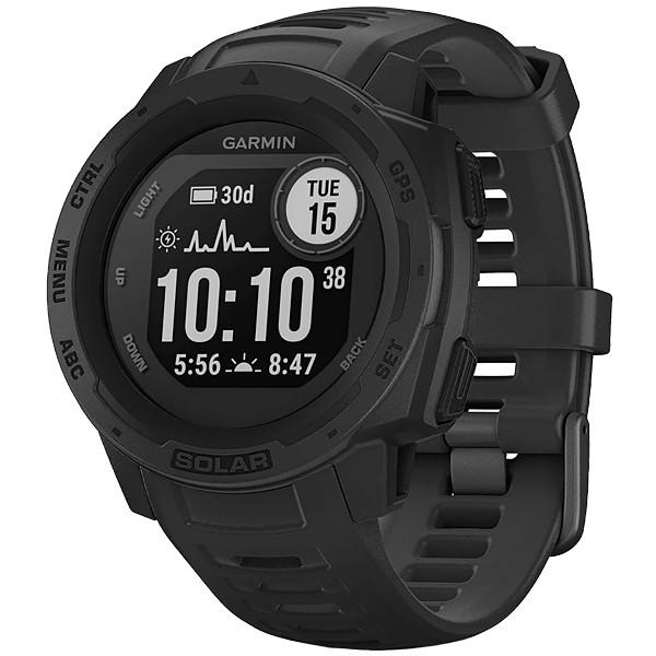Relógio Cardíaco Garmin Instinct Solar 010-02293-10 com Bluetooth e GPS