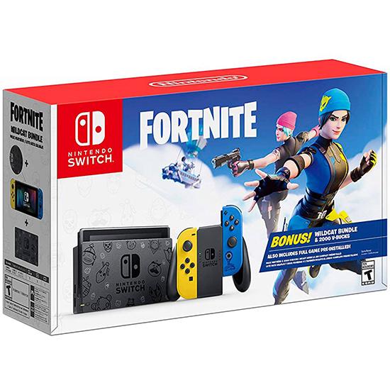 Console Nintendo Switch 32GB Fortnite Edition