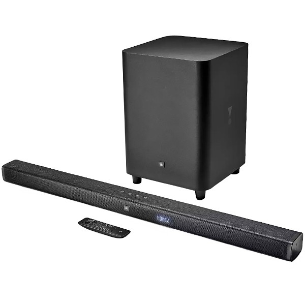 Soundbar JBL BAR 3.1 4K 450 watts com Bluetooth / HDMI / Auxiliar Bivolt