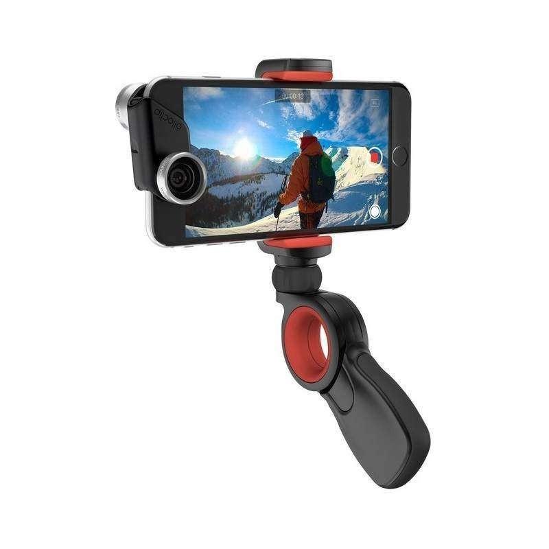 Suporte Olloclip Pivot para Câmeras de Ação e Smartphones